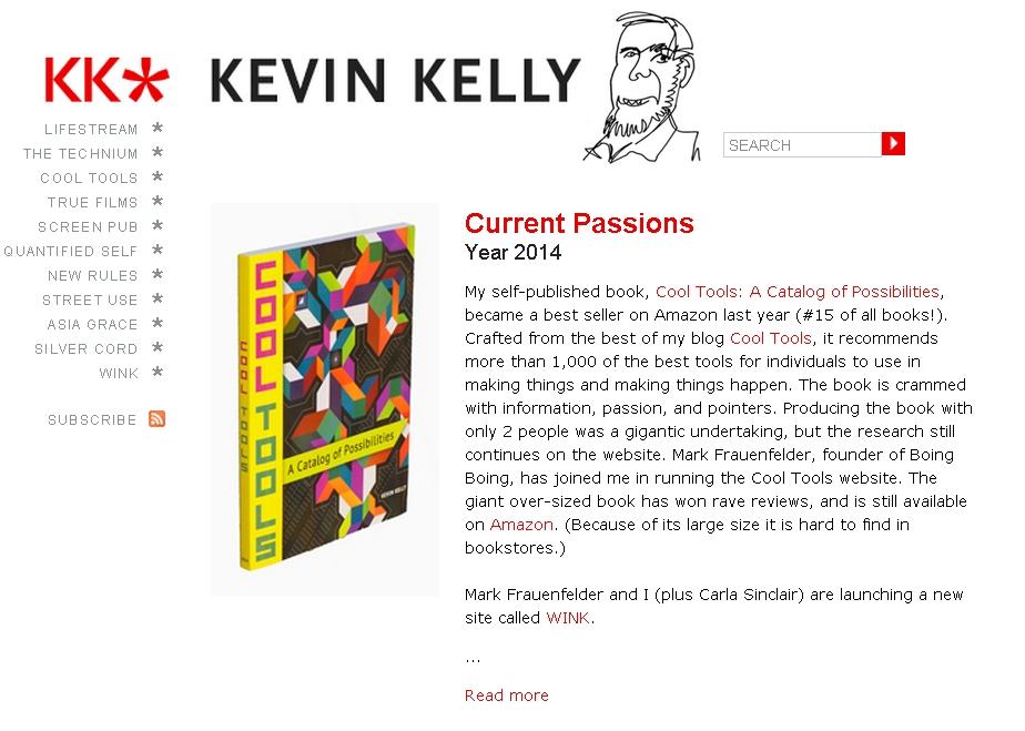 KK Kevin Kelly