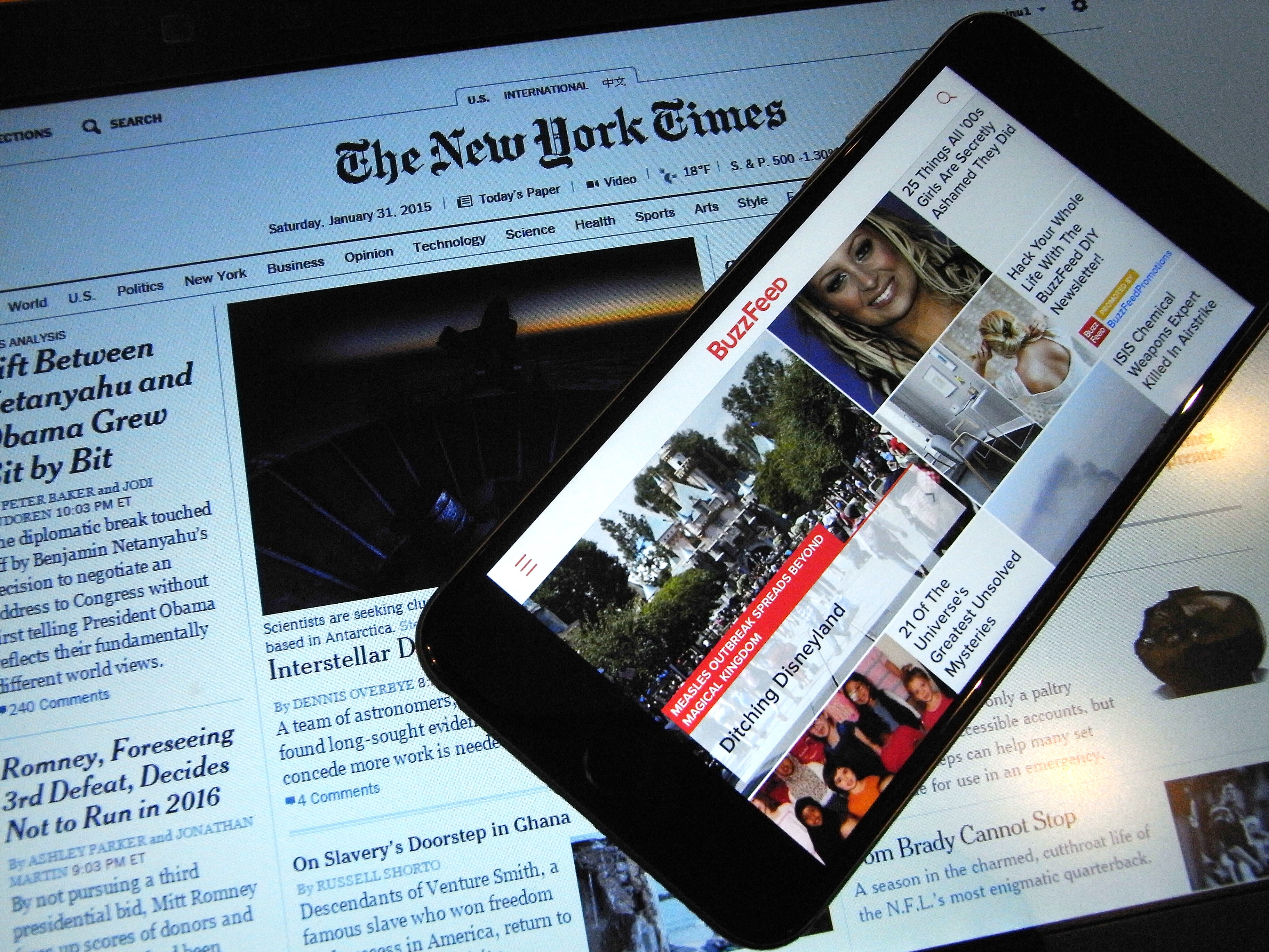NYT vs. Buzzfeed